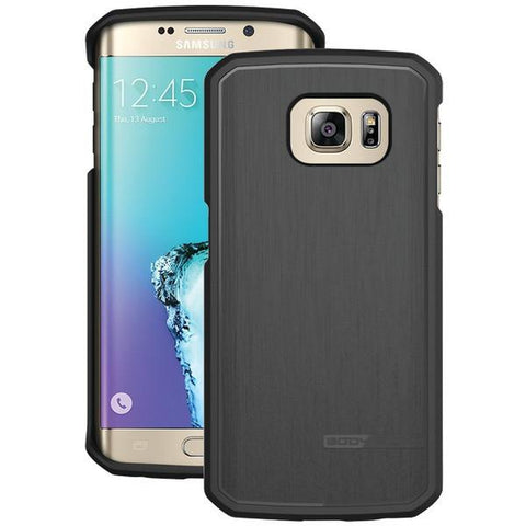 Body Glove 9521801 Samsung Galaxy S 6 Edge+ SATIN Case (Black) - Peazz.com