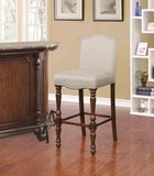 Linon BS016BGE01U Willow Bar Stool