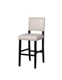 Linon BS022GRY01U Blake Dove Gray Bar Stool