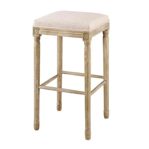 Linon BS033LIN01ASU Sulla Collection Backless Bar Stool