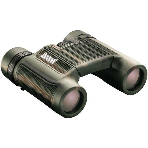 Bushnell 130106 H2O Roof Prism Compact Foldable Binoculars (10 x 25mm; Camo) - Peazz.com