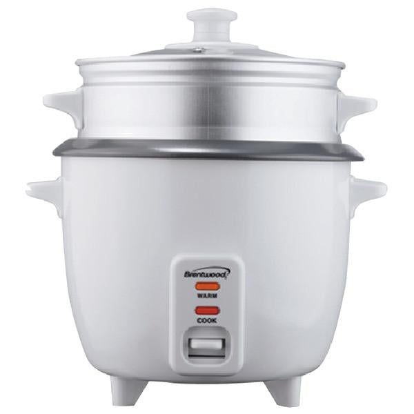 Brentwood Appliances TS-380S Rice Cooker (10 cup) with Steamer