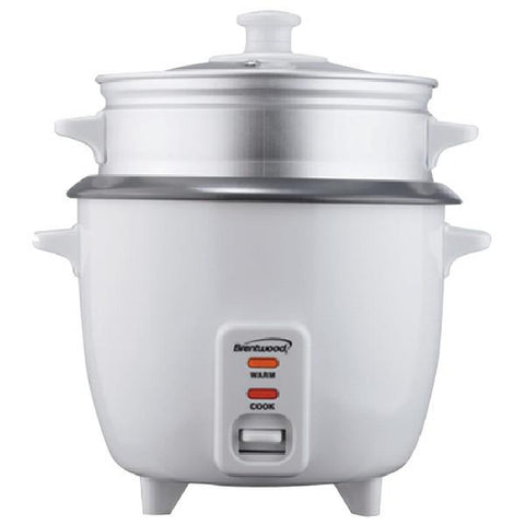 Brentwood Appliances TS-380S Rice Cooker (10 cup) with Steamer - Peazz.com