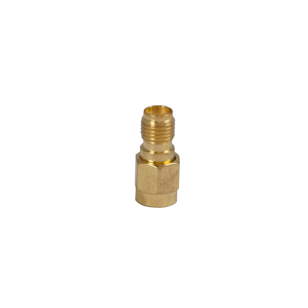 The Buzzard's Roost BUZZ-SMA-BRASS Brass Connector for Magmount Antenna