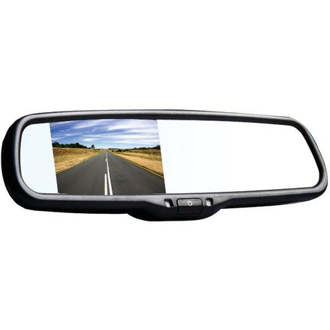 "BOYO Vision VTM35M 3.5"" LCD Rearview Color Mirror Monitor - Peazz.com"