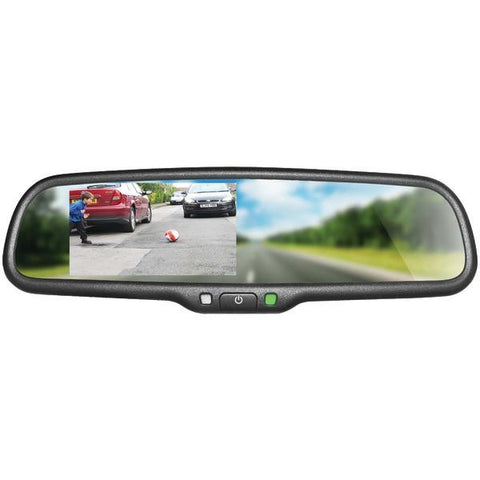 "BOYO Vision VTM43M 4.3"" OE-Style Replacement Rearview Mirror Monitor - Peazz.com"
