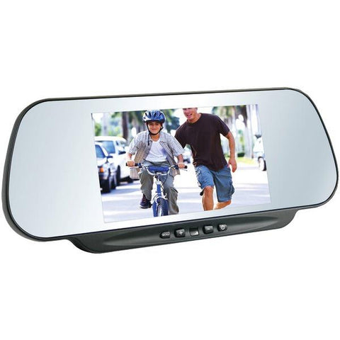 "BOYO Vision VTM600M 6"" LCD Clip-on Rearview Mirror Monitor - Peazz.com"