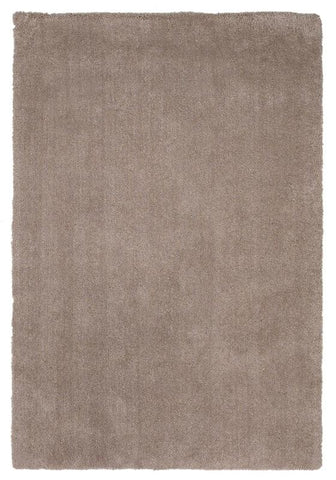 "KAS Rugs Bliss 1551 Beige Shag Hand-Woven & Other 100% Polyester 7'6"" X 9'6"""