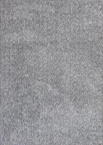 "KAS Rugs Bliss 1585 Grey Heather Shag Hand-Woven & Other 100% Polyester 7'6"" X 9'6"""