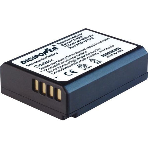 DIGIPOWER BP-LPE10 Canon LP-E10 Digital Camera Replacement Battery - Peazz.com
