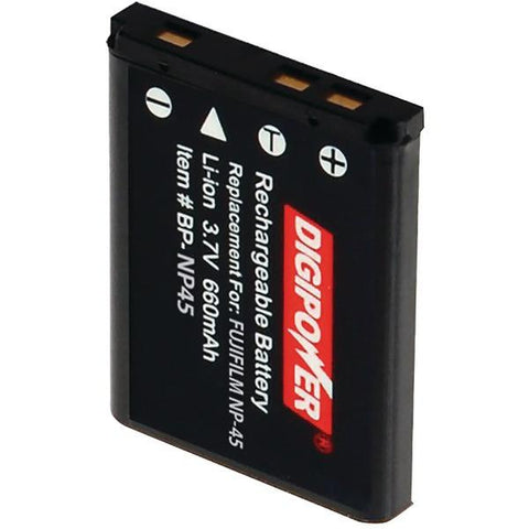 DIGIPOWER BP-NP45 FujiFilm NP-45 Digital Camera Replacement Battery - Peazz.com