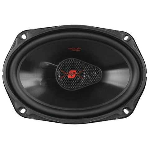 "Cerwin-Vega Mobile H4683 HED 3-Way Coaxial Speakers (6"" x 8"", 320 Watts) - Peazz.com"