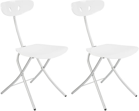 Corner Housewares CH-91 Robo High Gloss Folding Chair (Set of 2)
