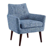 Linon CH067BLU01U Ava Blue Chair