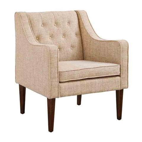 Linon CH068BGE01U Noda Tufted Back Chair