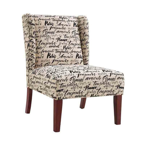 Linon CH084SRP01U Grace Wing Back Chair