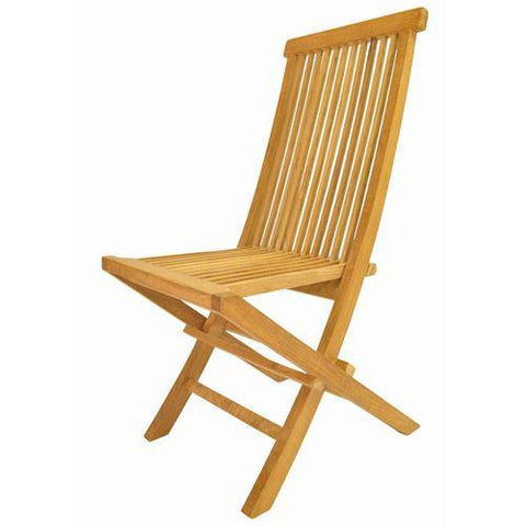 Anderson Teak CHF-101 Classic Folding Chair - Peazz.com