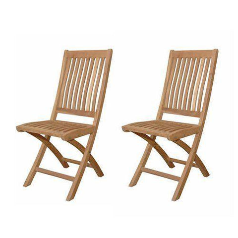Anderson Teak CHF-104 Tropico Folding Chair (sell & price per 2 chairs only) - Peazz.com