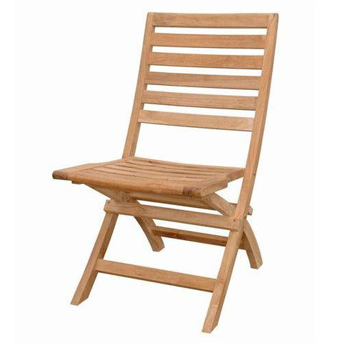 Anderson Teak CHF-108 Andrew Folding Chair - Peazz.com