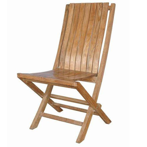 Anderson Teak CHF-301 Comfort Folding Chair - Peazz.com