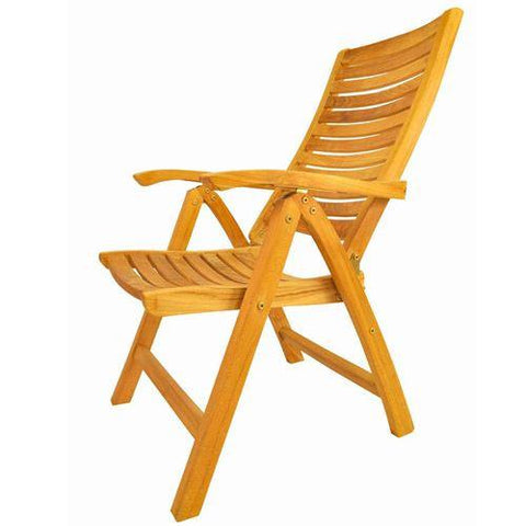 Anderson Teak CHR-118 Carina 5-Position Highback Recliner - Peazz.com