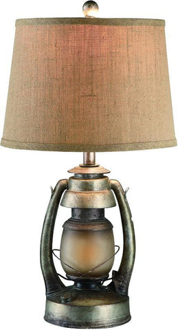 Bayden Hill CIAUP530 Oil Lantern Table Lamp 12 X 14 X 10 - PeazzLighting