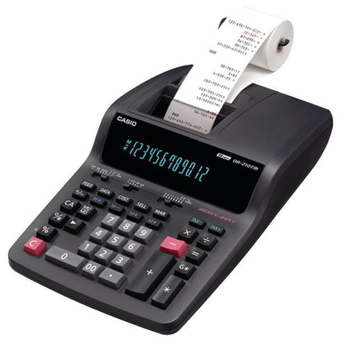 CASIO DR210TM Heavy-Duty Printing Calculator - Peazz.com