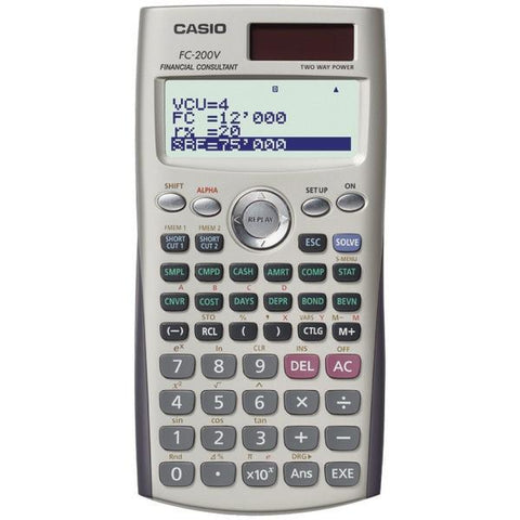 CASIO FC-200V Financial Calculator - Peazz.com