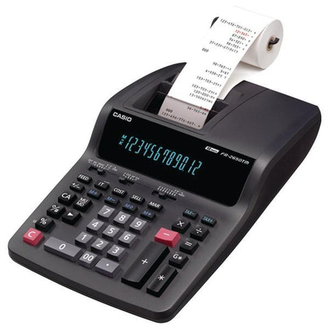 CASIO FR2650TM Desktop Printing Calculator - Peazz.com