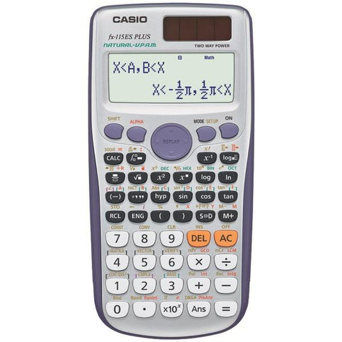 CASIO FX115ESPLUS Natural Textbook Display Calculator - Peazz.com
