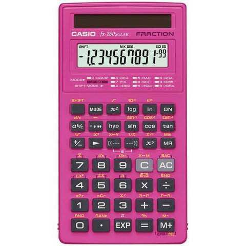 CASIO FX-260SLR-PK Scientific Calculator - Peazz.com