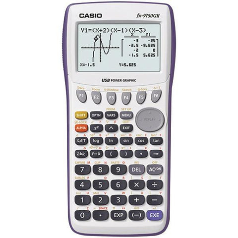 CASIO FX9750GII-WE Graphing Calculator - Peazz.com