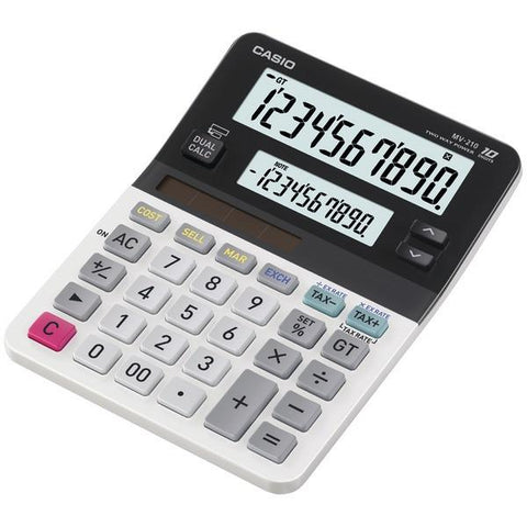 CASIO MV-210 Dual Display Mini Desktop Calculator - Peazz.com
