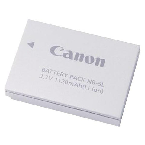 Canon 1135B001AA Canon NB-5L Digital Camera Replacement Battery - Peazz.com