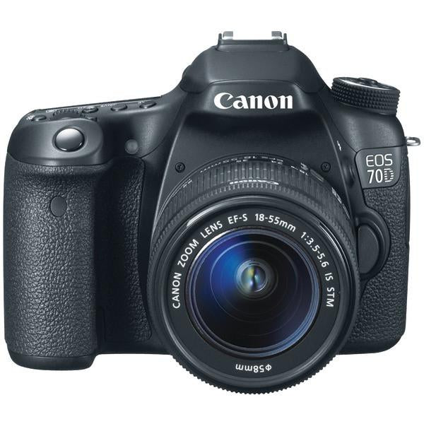 Canon 8469B016 20.2-Megapixel EOS 70D Digital SLR Camera (with 18mm–135mm IS STM Zoom)