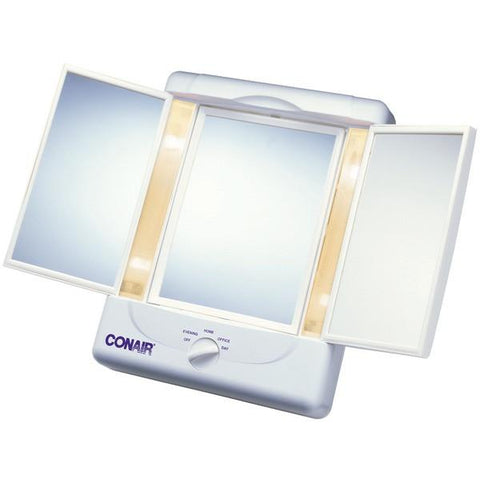 Conair TM7L Double-Sided Lighted Makeup Mirror - Peazz.com