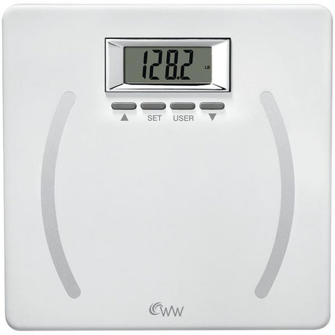 Conair WW28 Weight Watchers Plastic Body Fat Scale - Peazz.com