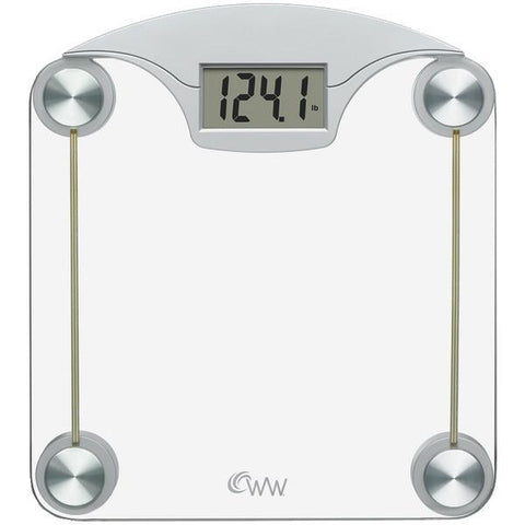 Conair WW39 Weight Watchers Digital Glass & Chrome Scale - Peazz.com