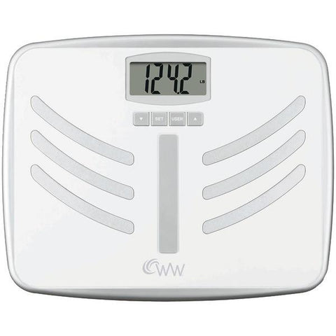Conair WW66NPDQ Wide-Platform Weight Watchers Body Analysis Scale - Peazz.com