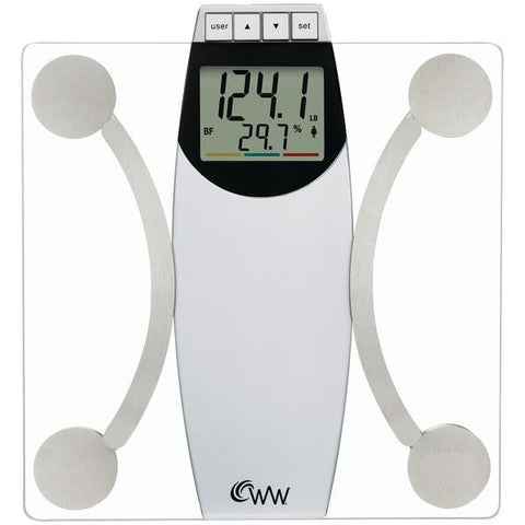 Conair WW67N Weight Watchers Glass Body Analysis Scale - Peazz.com