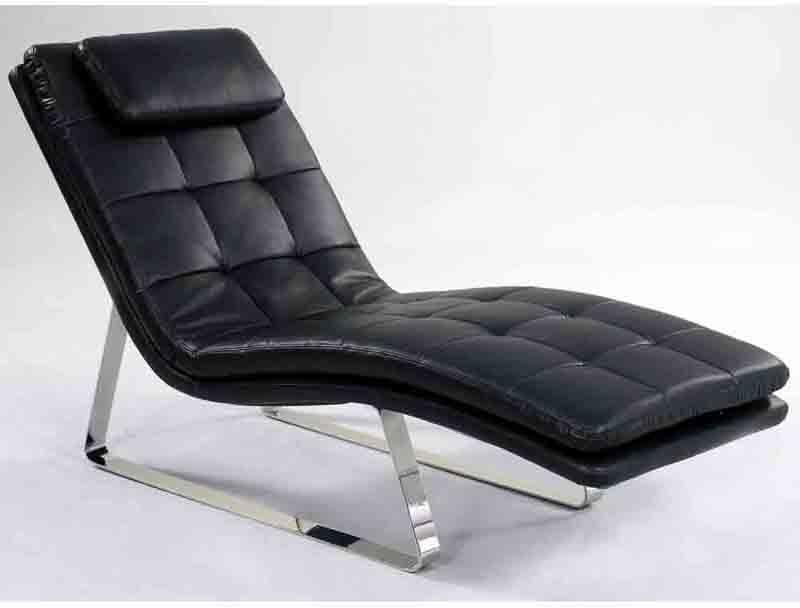 Chintaly Seat Black Chaise