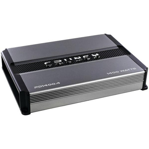 Crunch PD 1400.4 POWER DRIVE 4-Channel Pro Power Bridgeable Class AB Amp (1,400 Watts max) - Peazz.com
