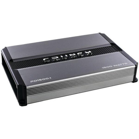 Crunch PD 1500.1 POWER DRIVE Monoblock Class AB Amp (1,500 Watts max) - Peazz.com