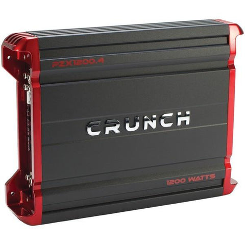 Crunch PZX1200.4 POWERZONE 4-Channel Class AB Amp (1,200 Watts) - Peazz.com