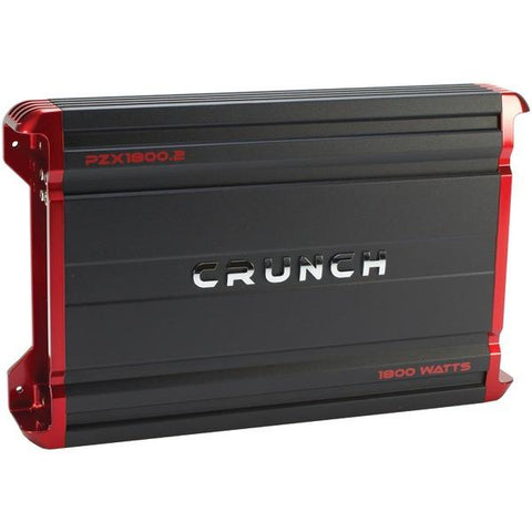Crunch PZX1800.2 POWERZONE 2-Channel Class AB Amp (1,800 Watts) - Peazz.com