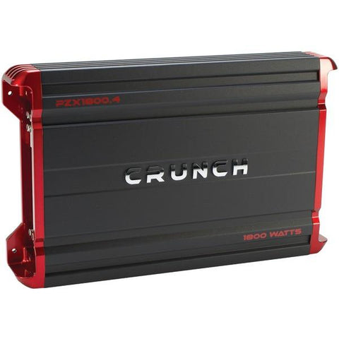 Crunch PZX1800.4 POWERZONE 4-Channel Class AB Amp (1,800 Watts) - Peazz.com