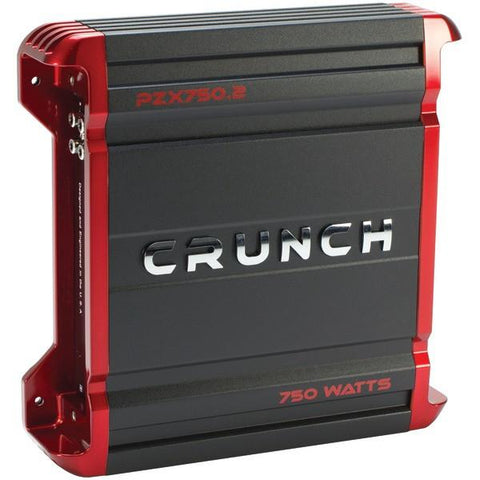 Crunch PZX750.2 POWERZONE 2-Channel Class AB Amp (750 Watts) - Peazz.com