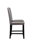 Linon CS009PWTR01U Stevie Pewter Counter Stool