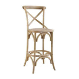 Linon CS031GRY01ASU Roxy Gray Wash Counter Stool