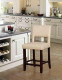 Linon CS034CAM01U Velma Camel Counter Stool